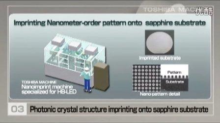 纳米加工 东芝机械纳米压印技术用于高亮度LED生产
