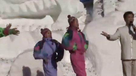 冰雪盛会冰雪情 赏灯滑雪到延庆-文艺表演