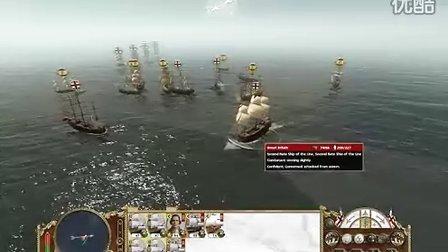 帝国全面战争 帝国舰队VS西班牙无敌舰队