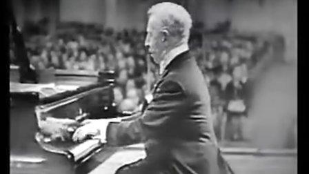 """鲁宾斯坦 肖邦第13号""""牧羊人的笛子""""练习曲(Op25No1),降A大调"""