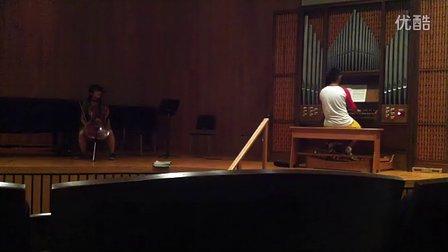 和日本同学第一次合奏