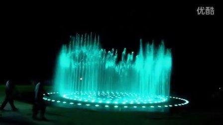 广州双润专业喷泉设计生产厂商-----陆河水池圆形音乐喷泉