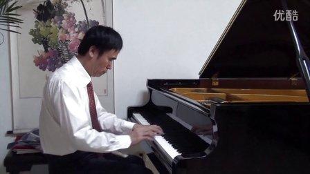 《我爱你中国》(钢琴)  I LOVE YOU, CHINA