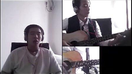 彩虹吉他版
