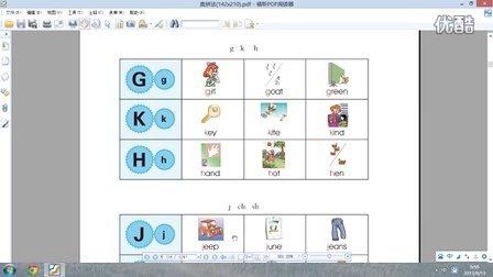 直拼法课程j ch sh的自然拼读读音(下)