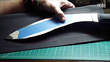 Kukri Style Knife Custom Kydex Sheath Tutorial - 标清