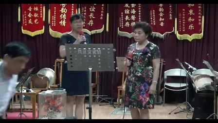 1九江文化站20130913《霸陵泣别紫钗人》鹤山冯小姐、吴小姐演唱