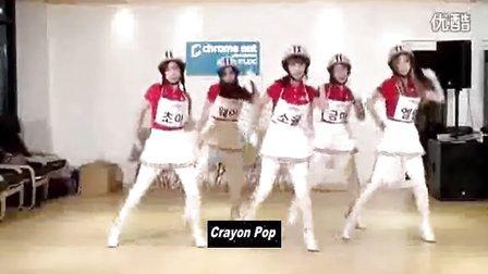 【鱼相随】Crayon Pop 自制五妞搞笑视频之参加中国好声音