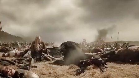 指环王3:王者归来 最震撼的场面4一一一帕兰诺平原战役