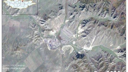 沙林高勒(蒙古)煤矿发展动画