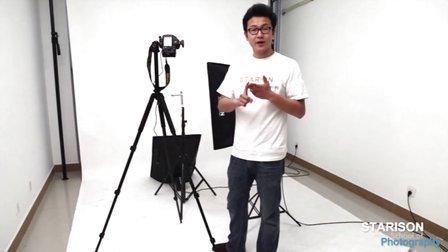 不锈钢水龙头拍摄教学视频,高反差不锈钢面产品拍摄细节