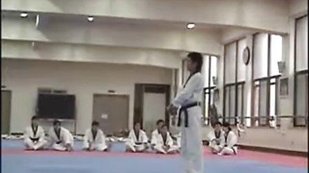 【侯韧杰  TKD  教学篇】之 龙仁大学跆拳道系 金刚