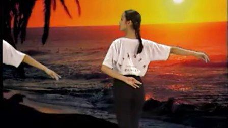 学跳维族舞2