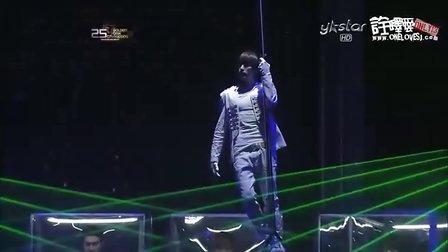 [诠释爱]101209.Y-star.第25届金唱片大赏.SuperJunior全剪辑【韩语中字】