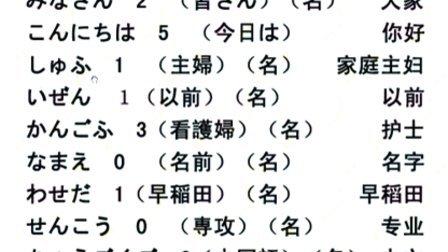 哈娜日语学习论坛-新世纪日语教程第一课
