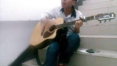 新手木吉他☞郭张华☆独唱【故乡】  喜欢音乐的朋友们顶下!谢谢