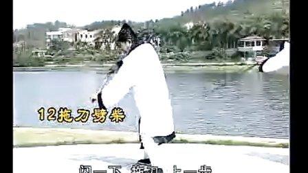 游明生讲解武当松溪短棍