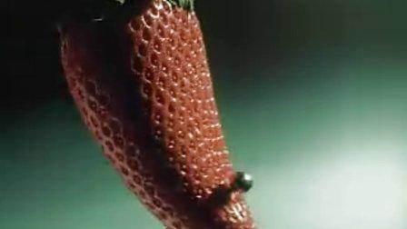 草莓汁广告
