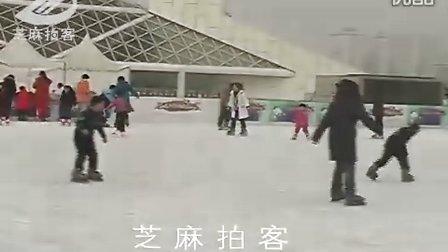 [拍客]国家体育场滑冰场