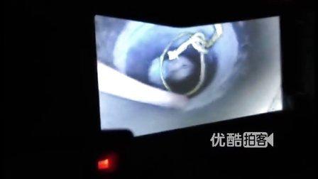 【拍客】河北男童坠入120米深井 被卡27米处