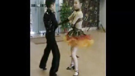 少儿拉丁舞 恰恰套路 珏色国际舞蹈俱乐部