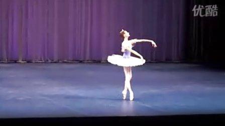 芭蕾舞 睡美人 蓝鸟女变奏(Anastasia Sobolieva)