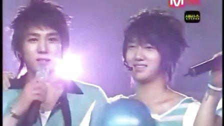 060831 DancingOut第一感言返场.Mnet.Countdown
