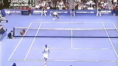 2004WTA年终总决赛小组赛 小威廉姆斯VS 达文波特