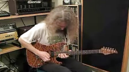 Guthrie Govan playing to Jeff Beck style