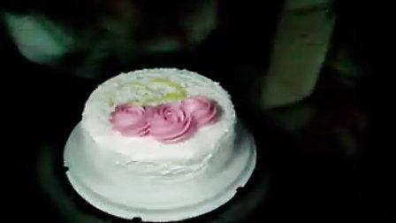 给老公做生日蛋糕