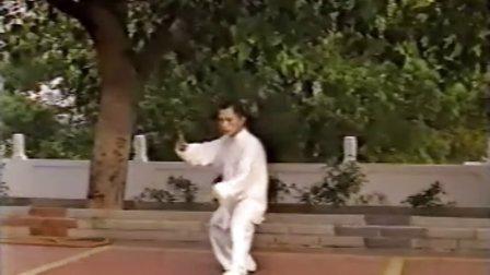 太极拳-单人练习推手基本功 挤按踩八卦步