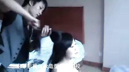 北京中影影视化妆造型艺术学校为奥运新娘化妆造型