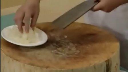 山东菜系-黄葱扒蹄筋