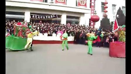 离石区坪头乡樊包头村2009春节秧歌——区篇
