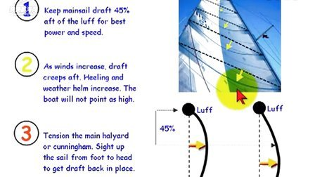 How to Adjust Mainsail Draft Fast!