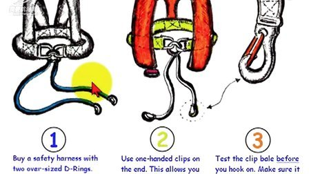 How to Use a Sailing Safety Harness!