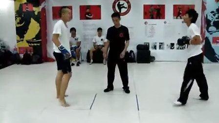 仁义咏春拳馆《十分钟真实挑战》Renyi Challenge Fight 2010-10-09