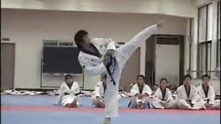 【侯韧杰  TKD  教学篇】之 龙仁大学跆拳道系 平原