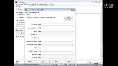 Weka在数据挖掘中的运用3.5 (英文字幕)