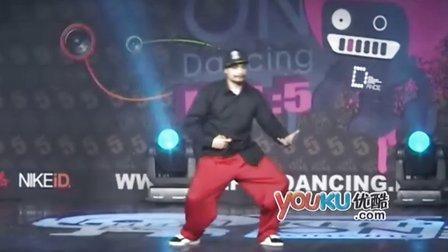 poppin祖师 美国EB舞团KOD5现场.flv