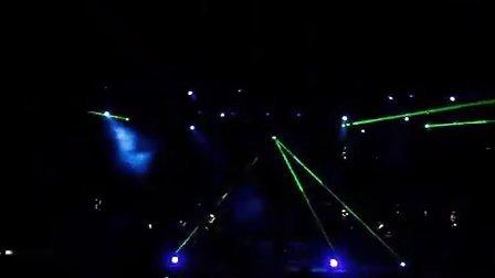 2008容祖儿上海演唱会 激光秀