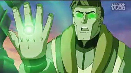 美国英雄动画版《绿灯侠:首次飞行 》预告片