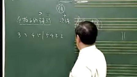 一单元:看谱学歌与基础乐理06五线谱之视唱与单拍子的强弱