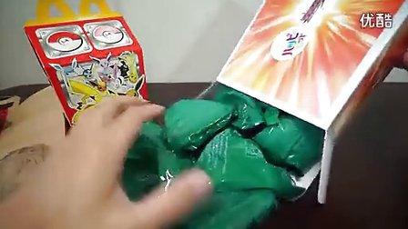 (小布转载)日本麦当劳限定发售 假面骑士WIZARD玩具套