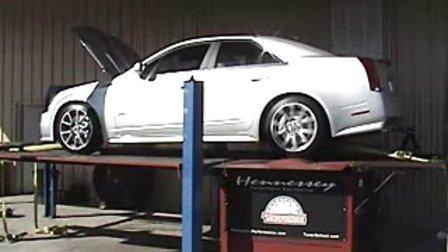 Hennessey改装凯迪拉克CTS-V车间测试