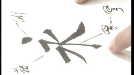 1田蕴章书法讲座第一讲:永字八法