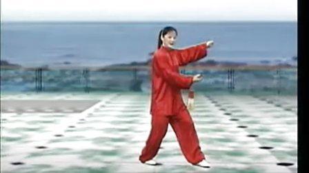 吴阿敏42式太极剑10 (38-42)式