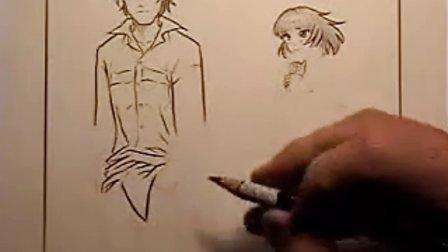 漫画中衣服的画法