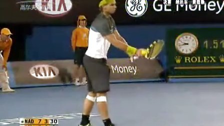 09年澳网公开赛之男单总决赛费德勒VS纳达尔及颁奖仪式