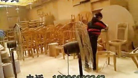 高级实木餐椅油磨组